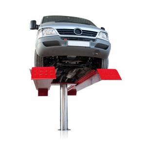 giàn nâng một trụ rửa xe oto, cầu nâng rửa xe